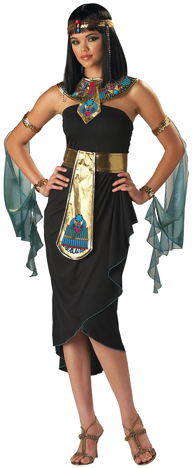 cleopatra egyptian adult women's costume | costumes.au