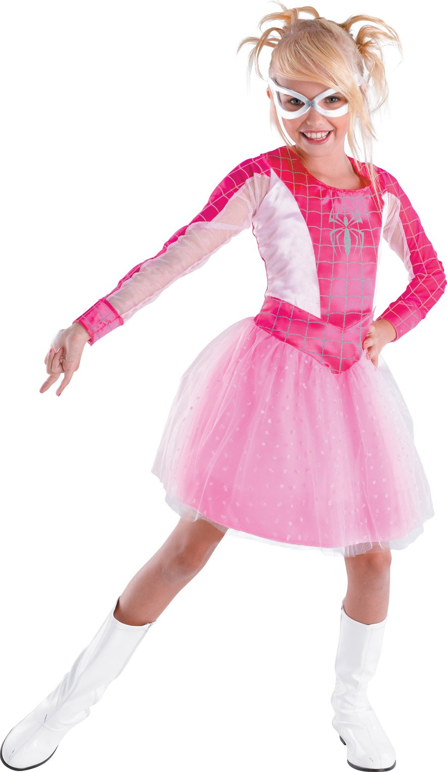 Spider Girl Pink Classic Toddler Costume