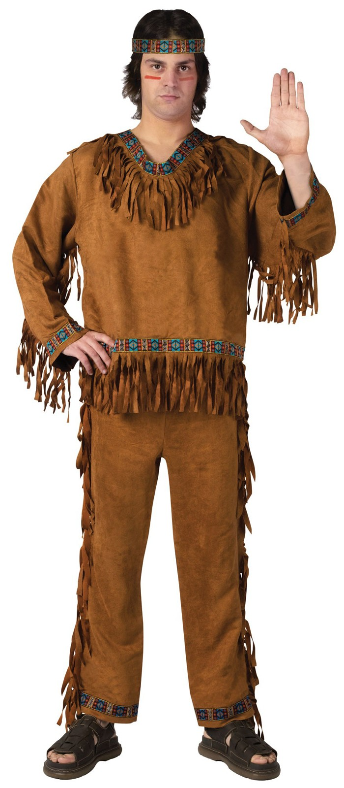 Native American Indian Adult Costume