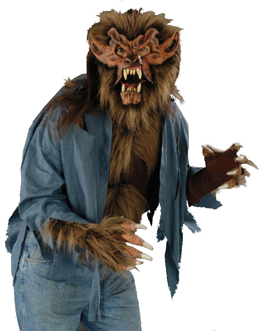 Werewolf Hairy Monster Chest Shirt Costume Accessory ... - photo#35