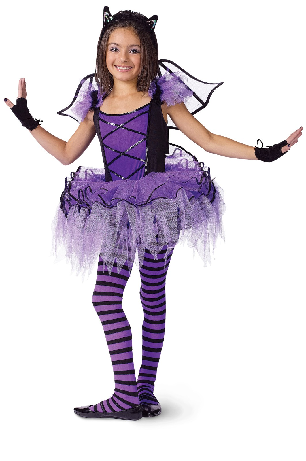 Batarina child girl 39 s costume for Halloween costume ideas for 12 year olds