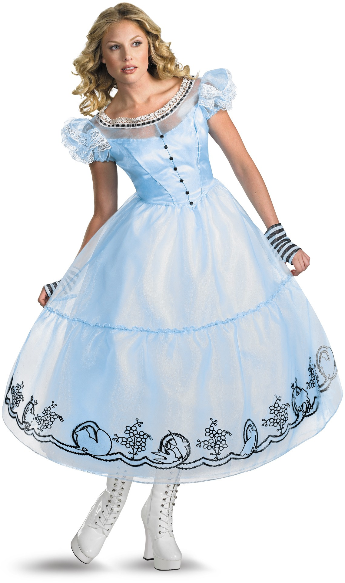 Alice In Wonderland Movie - Deluxe Alice Adult Womenu0026#39;s Costume | Costumes.com.au