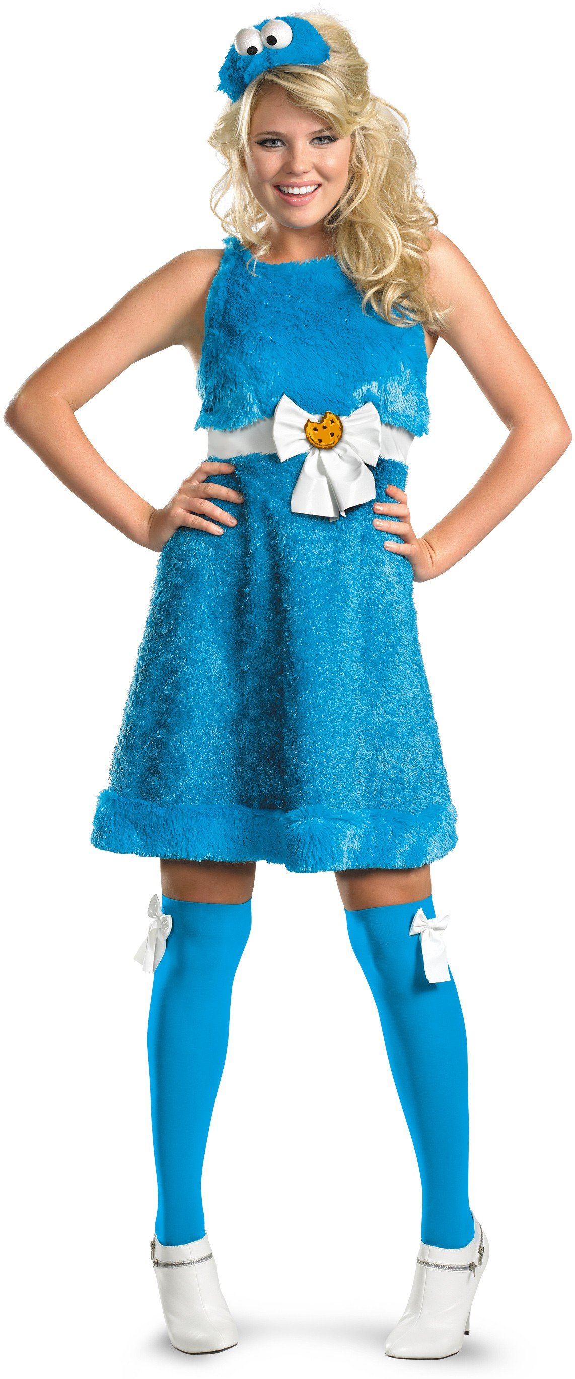 Sesame Street - Cookie Monster Sassy Female Adult Womenu0027s Costume.jpg  sc 1 st  Costumes.com.au & Sesame Street - Cookie Monster Sassy Female Adult Womenu0027s Costume ...