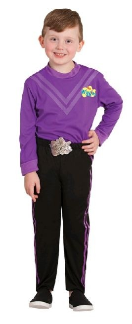 The Wiggles Lachy Purple Wiggle Deluxe Toddler / Child Costume