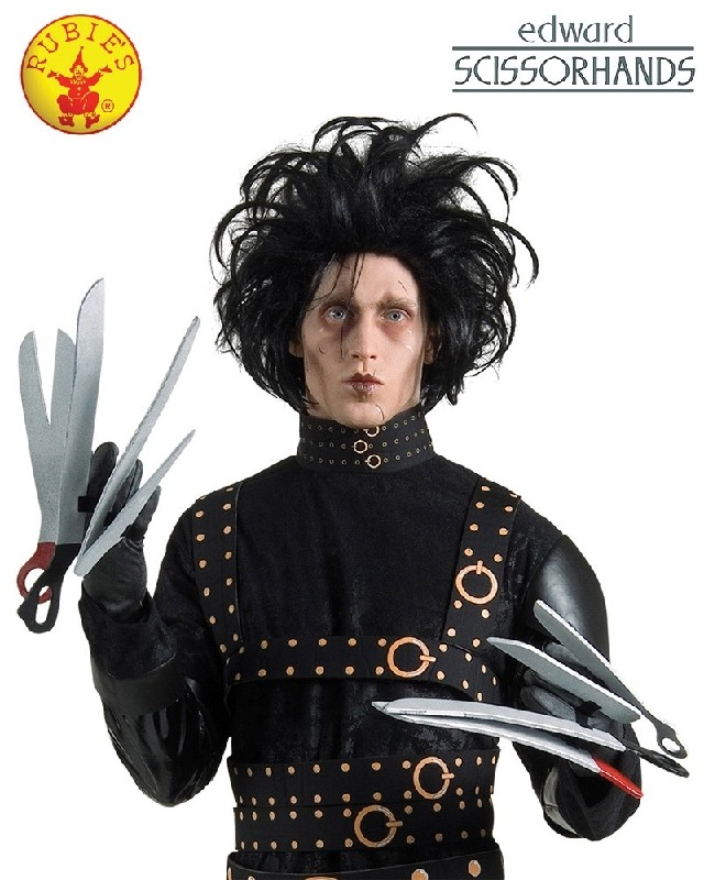 0052cd0df5f Edward Scissorhands Deluxe Gloves Adult Costume Accessory | Costumes ...