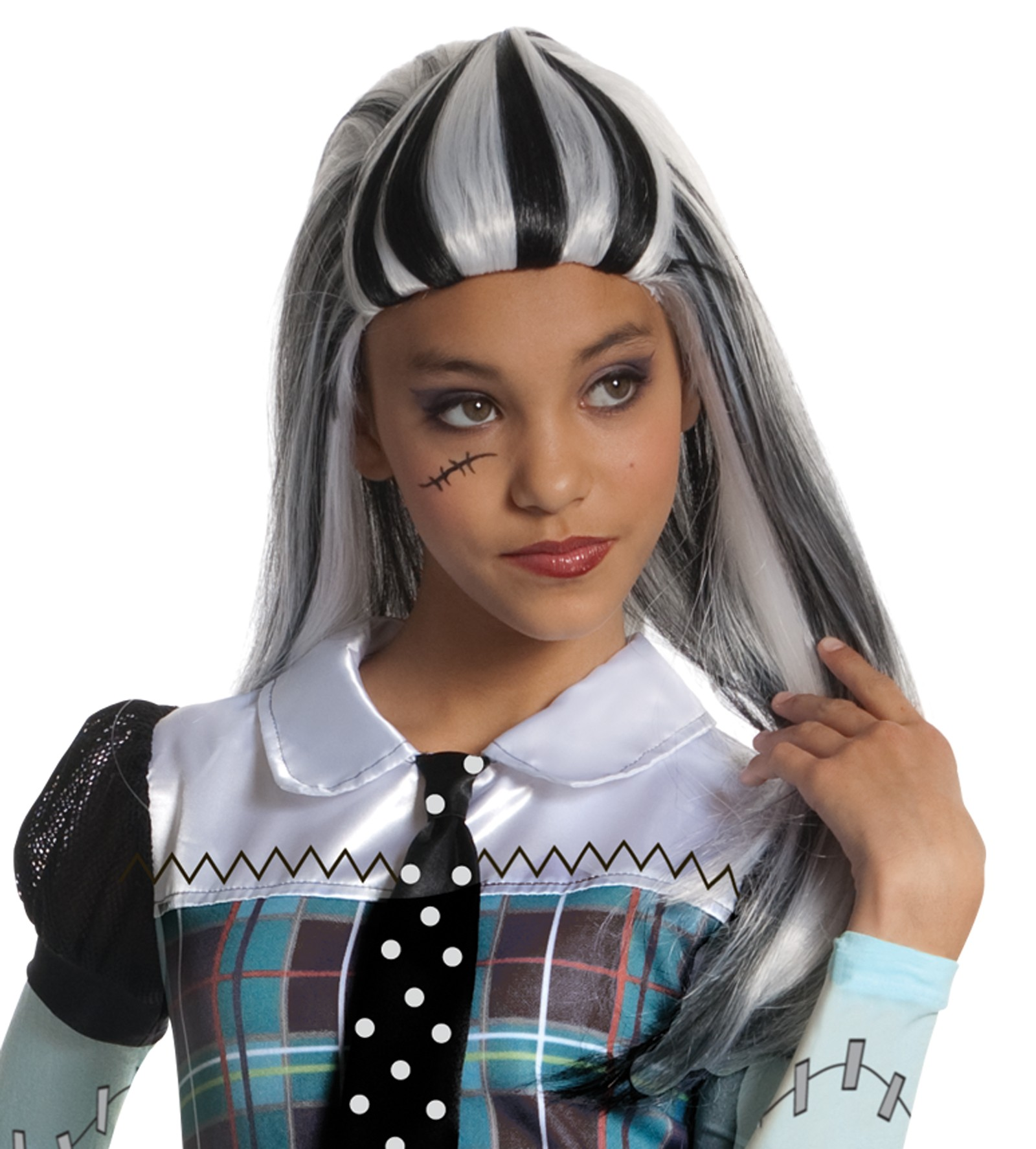 Monster High - Frankie Stein Girls Costume Wig (Child).jpg  sc 1 st  Costumes.com.au : frankie stein monster high costume  - Germanpascual.Com