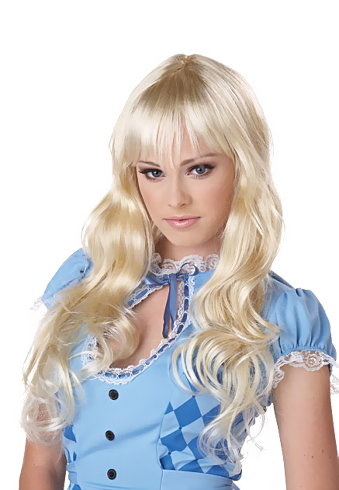 Long Blonde Wig For Costumes 4