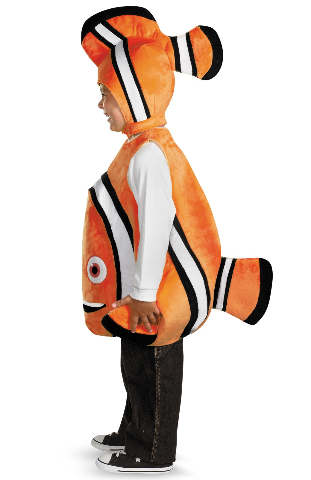 Disney finding nemo deluxe child costume for Kids fish costume