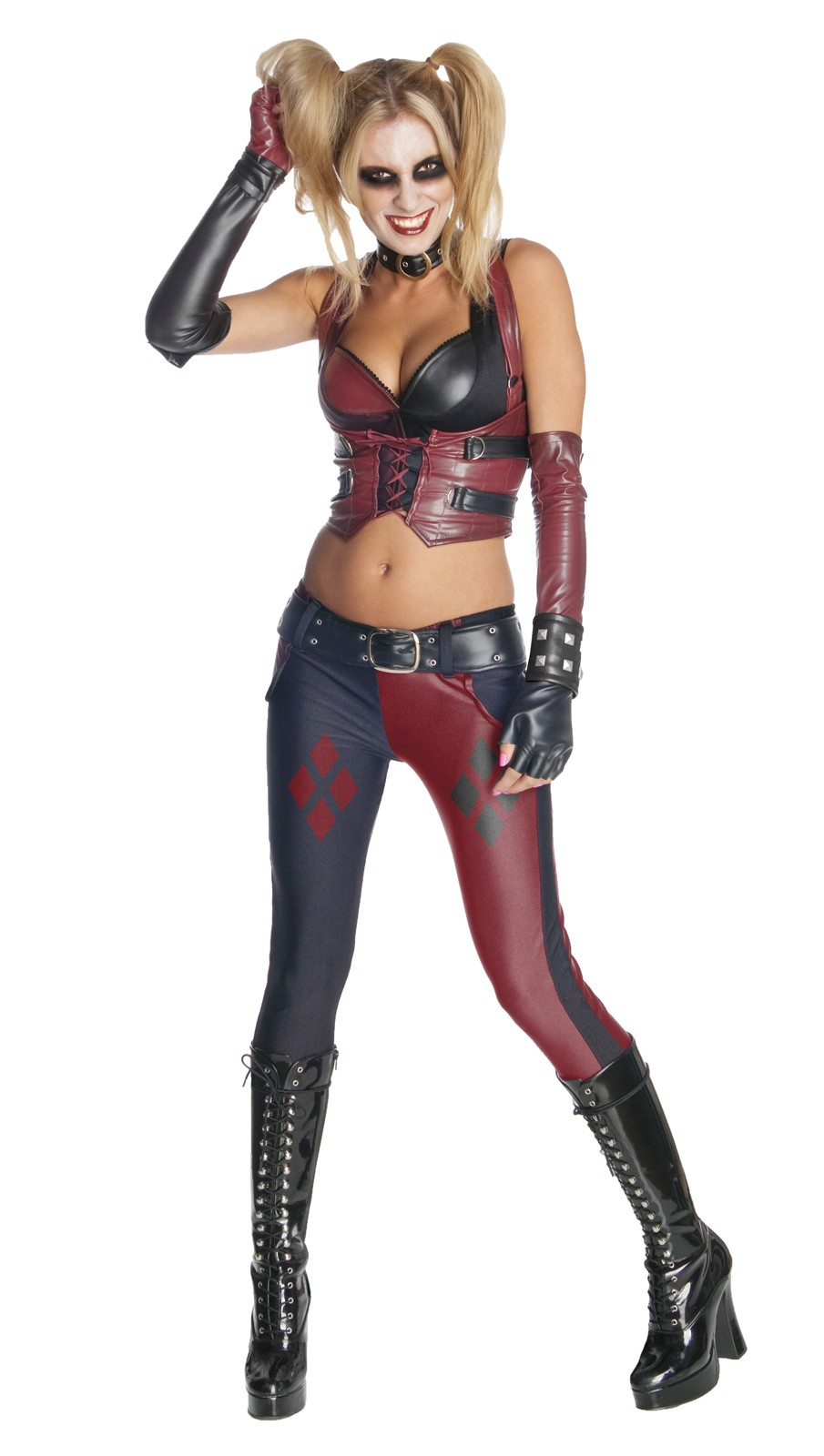 Batman Arkham City Secret Wishes Harley Quinn Adult Costume.jpg  sc 1 st  Costumes.com.au & Batman Arkham City Secret Wishes Harley Quinn Adult Costume ...
