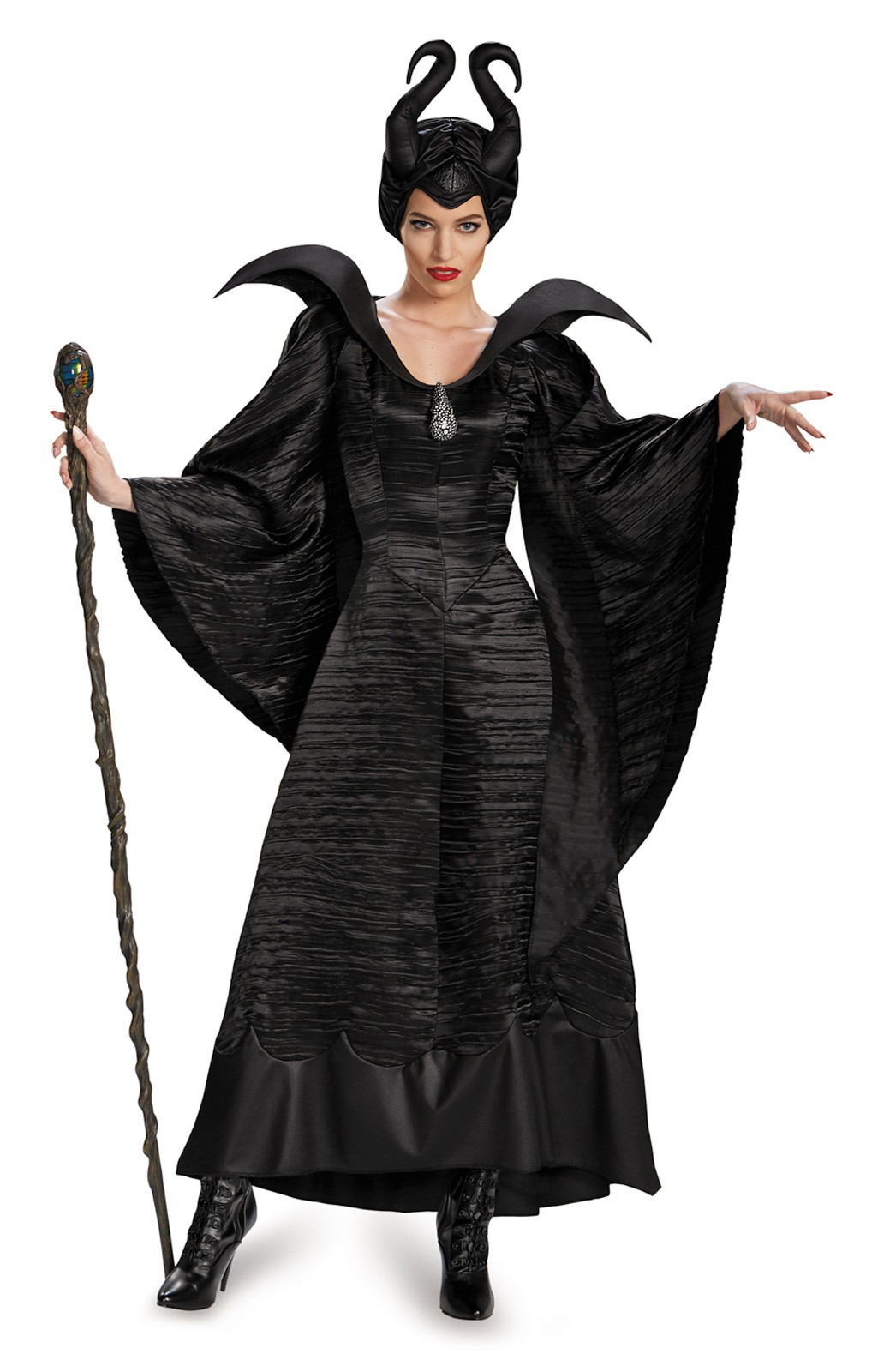 Maleficent Deluxe Christening Black Gown Adult Plus Size Womenu0027s Costume  sc 1 st  Costumes.com.au : plus size madonna costume  - Germanpascual.Com