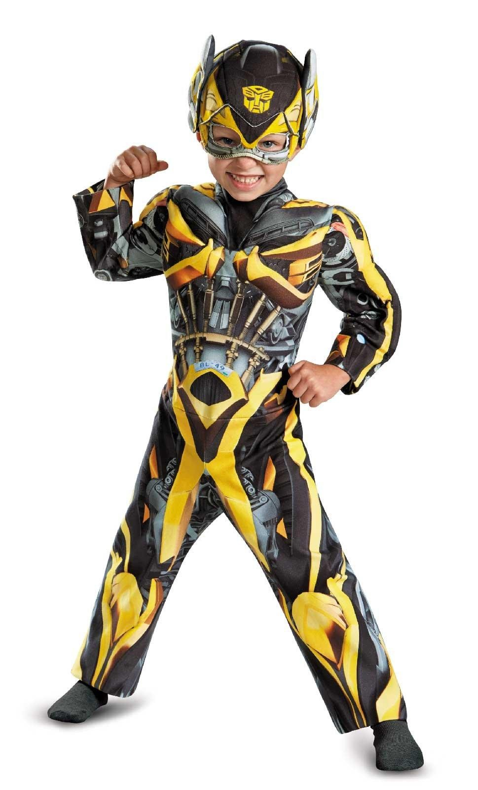 Transformers Age Of Extinction Bumblebee Toddler Muscle Costume
