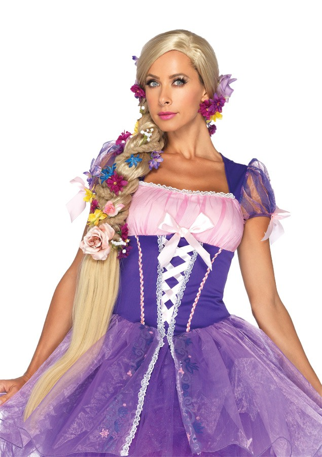 Disney Princess Rapunzel Long Blonde Wig Women s Costume Accessory ... f75405cdc