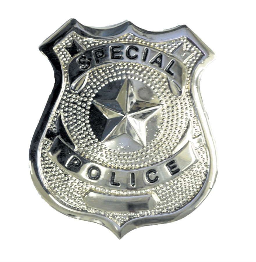 Special Police Badge Agent Cop Adult's Costume Accessory