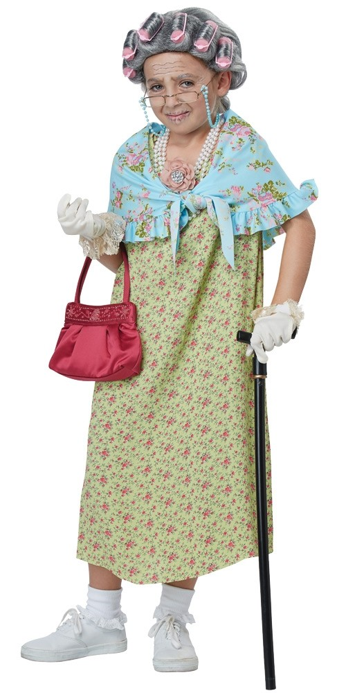 956f0e5d2 Old Lady Child Costume Kit | Costumes.com.au