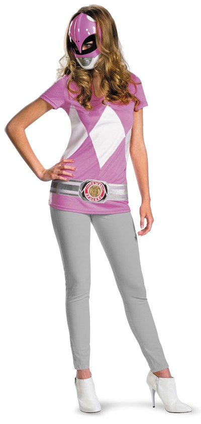 4e8ccf19ed3 Mighty Morphin  Power Rangers Pink Ranger Alternative Teen Girl s Costume