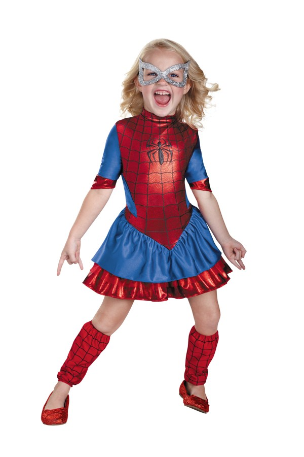 Spider Girl Deluxe Toddler Costume