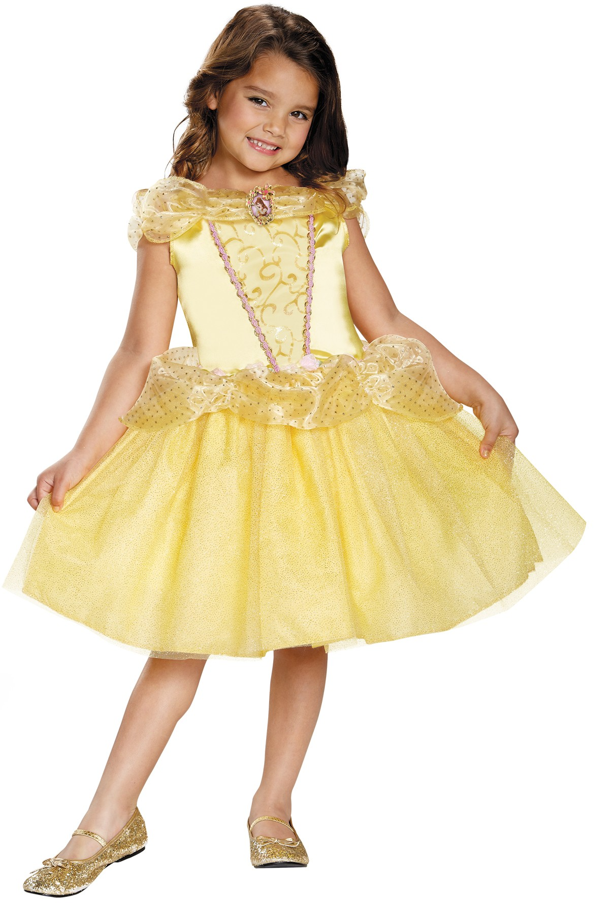 0fea1a2e8 Disney Beauty and the Beast Belle Classic Toddler   Child Costume ...
