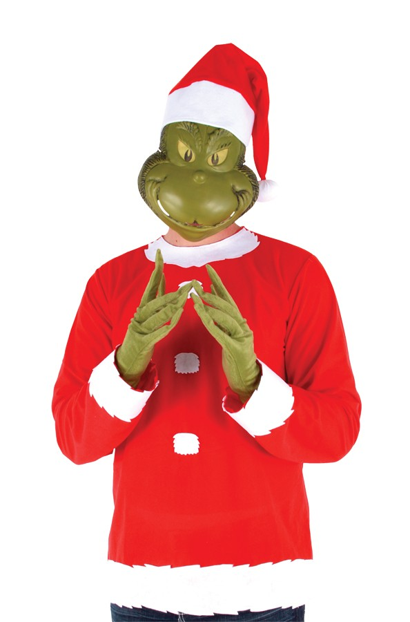 how the grinch stole christmas grinch adult costumejpg