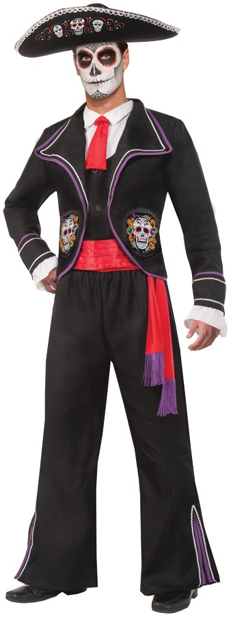 Day of the Dead Mariachi Macabre Adult Costume | Costumes ...