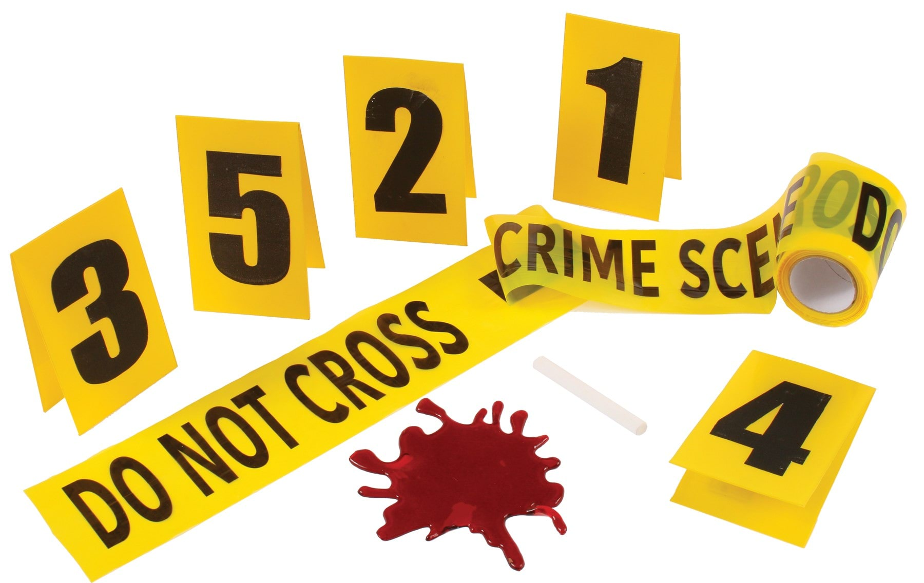 crime scene kit with blood splat props costumes com au rh costumes com au Crime Scene Evidence Clip Art Crime Scene Evidence Clip Art