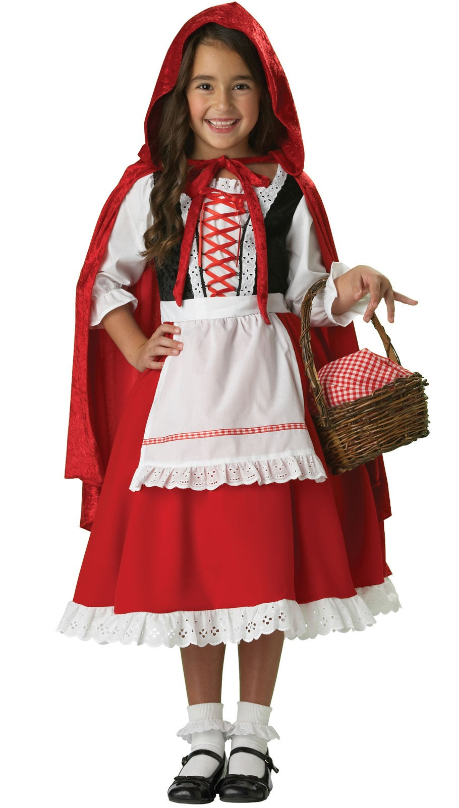 8e817f1ad3 Little Red Riding Hood Elite Collection Child Girl's Costume ...