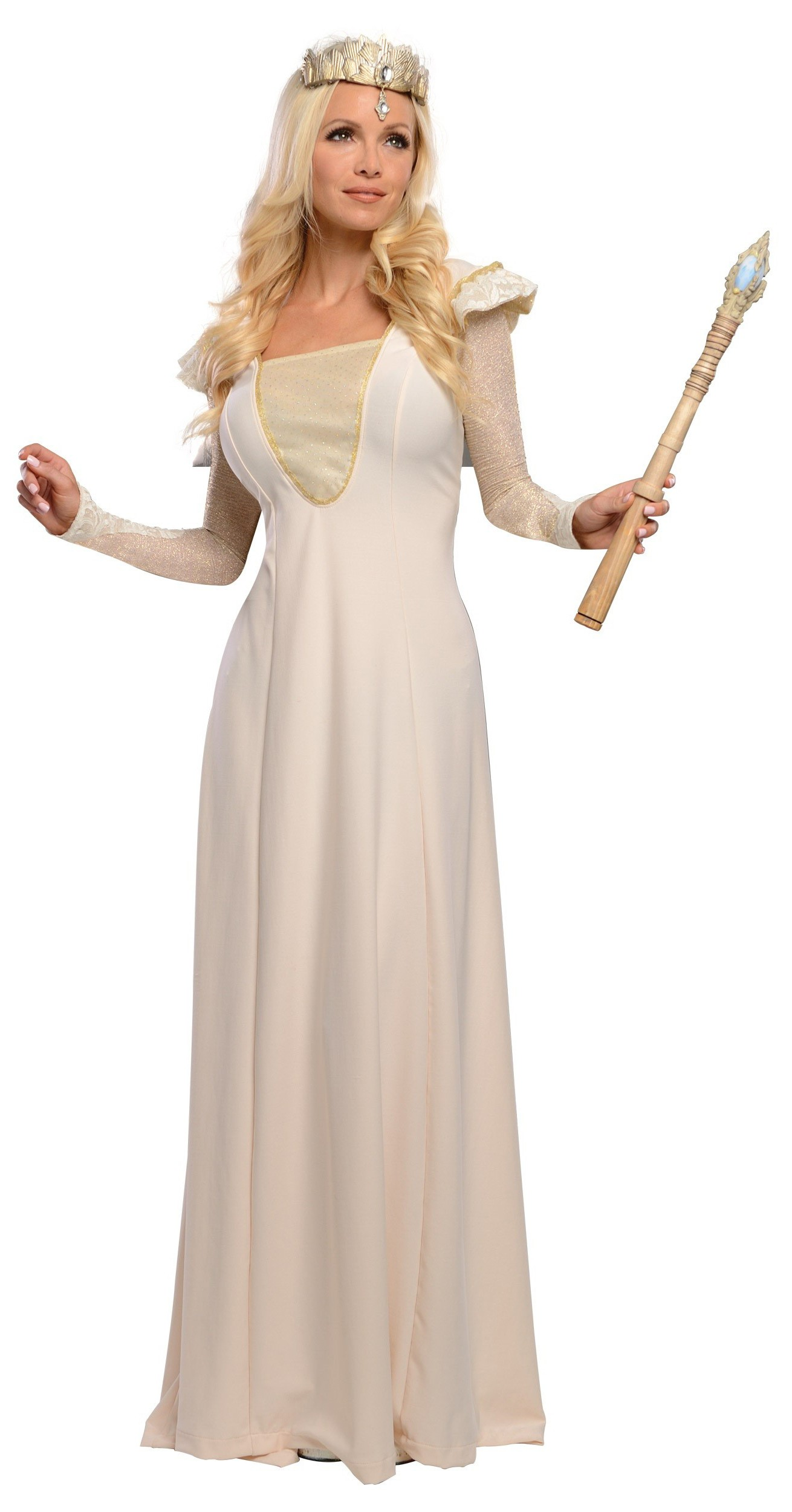 454cc00d114 Oz The Great And Powerful Deluxe Glinda Adult Women s Costume ...