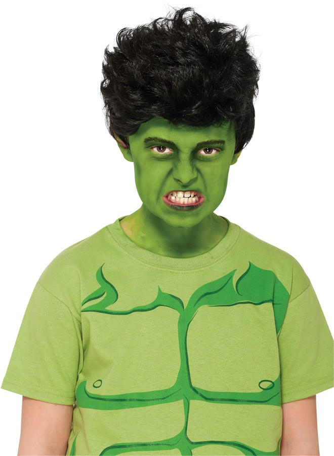 marvel the incredible hulk child costume wig jpg