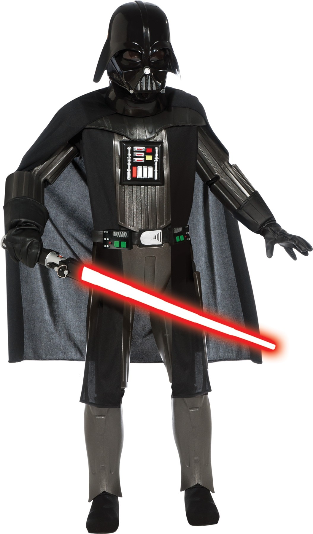 NEW Rubies Costume Star Wars Darth Vader Deluxe Adult Black X Large Costume
