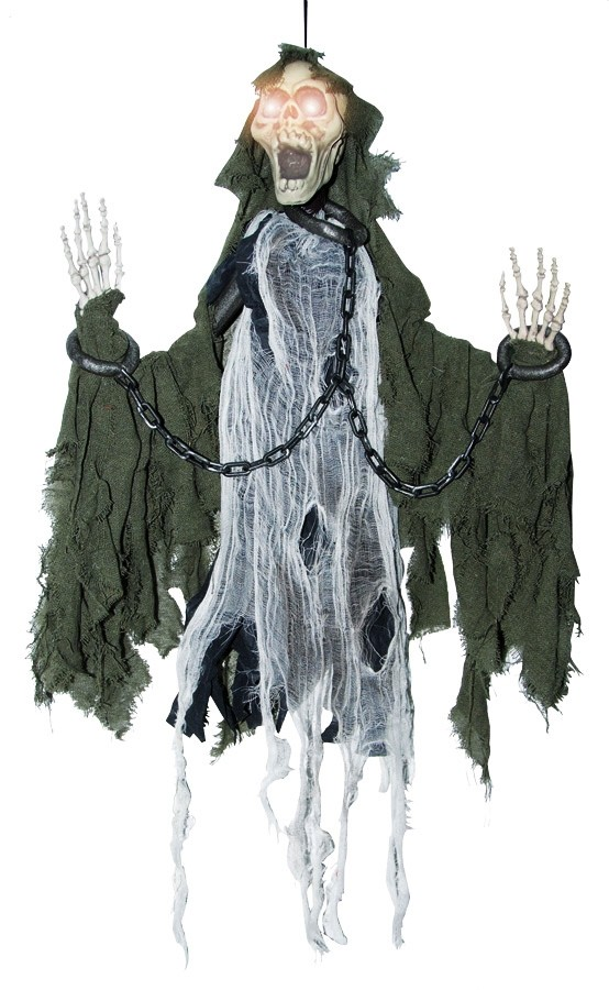 Animated Reaper In Chains Halloween Prop Costumes Com Au