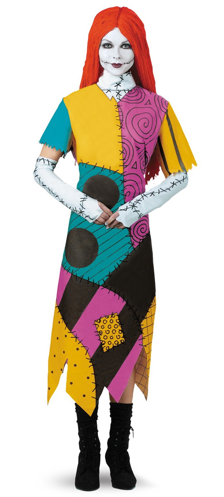 The Nightmare Before Christmas Sally Plus Adult Women\'s Costume ...