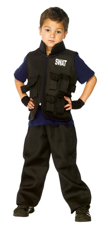 Police swat child costume - Police officer child costume ...