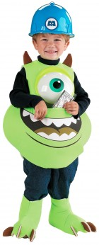 Monsters Inc. Disney Mike Wazowski Candy Catcher Child Costume_thumb.jpg