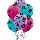 Mad Tea Party 30cm Latex Balloons Pack of 6_thumb.jpg