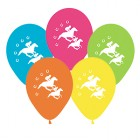 Melbourne Cup Horse Racing Horseshoes 28cm Balloons Pack of 25_thumb.jpg