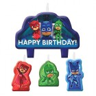 PJ Masks Happy Birthday Mini Moulded Candle Pack of 4_thumb.jpg