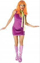 Scooby-Doo Daphne Adult Women's Costume One Size_thumb.jpg