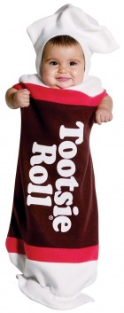 Tootsie Roll Baby Bunting Infant Costume_thumb.jpg