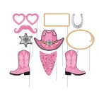 Photo Booth Props Pink Bandana Western Pack of 10_thumb.jpg