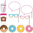 Donut Time Photo Booth Props Pack of 10_thumb.jpg