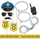 Police Party Photo Booth Props Pack of 10_thumb.jpg
