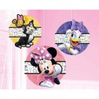 Minnie Mouse Happy Helpers Honeycomb Hanging Decorations Pack of 3_thumb.jpg