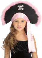 Pirate Trim Hat Child Costume Accessory Pink_thumb.jpg