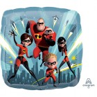 The Incredibles 2 Group Design 45cm Foil Balloon_thumb.jpg
