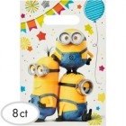 Despicable Me Minion Made Plastic Loot Bags Pack of 8_thumb.jpg