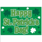Happy St. Patrick's Day Plastic Stick Flags Pack of 12_thumb.jpg