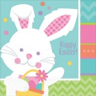 Hippity Hop Happy Easter Lunch Napkins Pack of 16_thumb.jpg