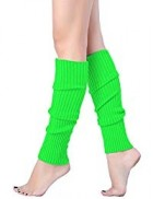 Neon Green Leg Warmers Adult Costume Accessory_thumb.jpg