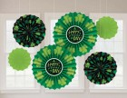 St. Patrick's Day Paper Fan Hanging Decorations Pack of 6_thumb.jpg