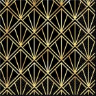 Glitz & Glam Beverage Napkins Black Gold Pack of 16_thumb.jpg