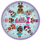 LOL Surprise 23cm Round Paper Plates Pack of 8_thumb.jpg